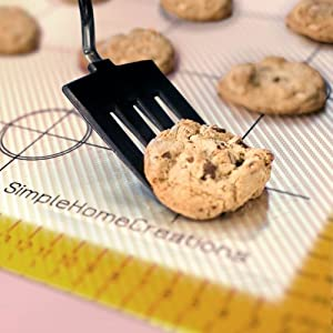Silicone Coated Fiberglass Non Stick Baking Mat, Fits US Half Size 11 3 4 X 15 3 4, 30cm X... by Simple Home Creations