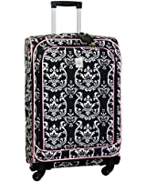 Jenni Chan Damask 360 Quattro 25 Inch Upright Spinner Luggage