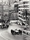 Anon 60 x 80 cm Monaco Grand Prix Canvas
