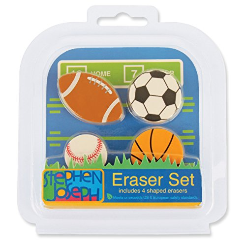 Stephen Joseph Eraser Set-Sports - 1