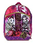 Full Size Pink Ever After High You Only Live Once Upon a Time Kids Backpack