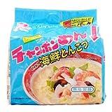 イトメン 海鮮とんこつチャンポン 5食パック