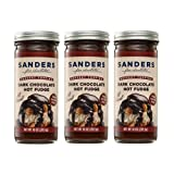 Sanders Original Dessert Topping Dark Chocolate Hot Fudge 10 Oz (Pack of 3)