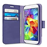 Belkin 2-in-1 Wallet Folio Case for Samsung Galaxy S5 - Ink/Lavendar