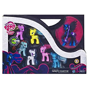 "Nightmare Moon My Little Pony Friendship is Magic ""Favorite Collection"" Collector Series New Release 2012"