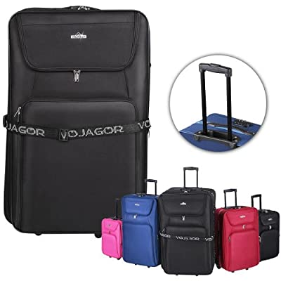Vojagor® TRSE04 5-pc Suitcase Trolley Set