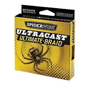 Spiderwire Ultracast Ultimate Braid 1500-Yard Spool by Spiderwire