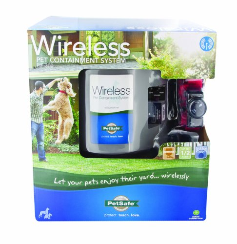 Petsafe - Electronics Pif-300 Wireless Pet Containment System Grey Up To 1.2 Acre
