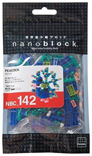 Kawada NBC142 Nanoblock Peacock Building Kit