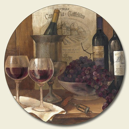 How To Buy New Vintage Wine Lazy Susan Grape Tuscan
