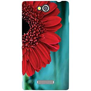 Sony Xperia C Back Cover - Red Rose Designer Cases