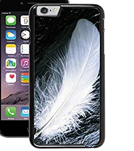 ColourCraft Feather Design Back Case Cover for APPLE IPHONE 6