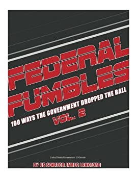 Cheapest Copy Of Federal Fumbles 100 Ways The Government