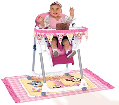 Disney Minnie's 1st High Chair Decorating Kit - 1