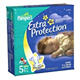 Pampers Extra Protection Size 5 Diapers Jumbo Pack 23 Count (pack of 4)