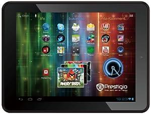 Prestigio MultiPad 5080 PRO 20,3 cm (8 Zoll) Tablet-PC (ARM Cortex-A8, 1GHz, 1GB RAM, 8GB HDD, Android 4.0) schwarz