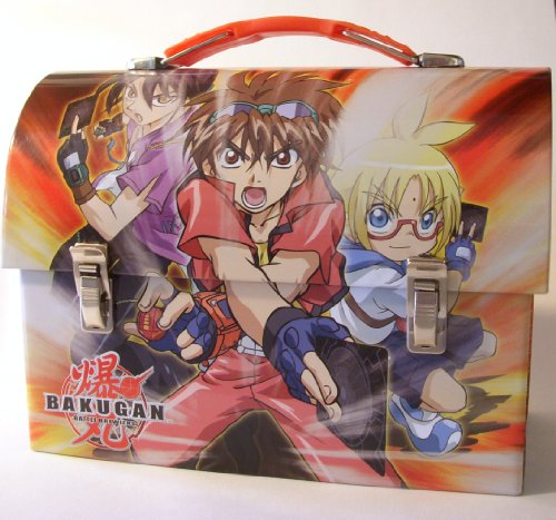 Bakugan Battle Brawlers Tin Lunch Box - 1