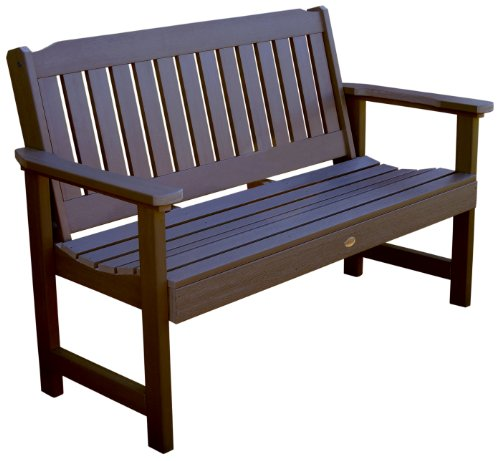 Highwood Lehigh Bench, 4 Feet, Weathered Acorn