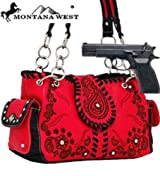 Pink Western Designed Conceal and Carry Purse