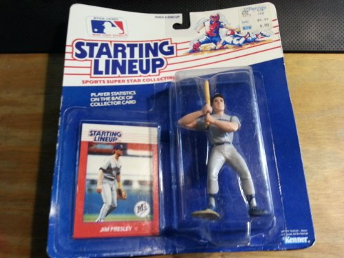 Starting Lineup (Line Up) 1988 Jim Presley Seattle Mariners Figure [Toy]