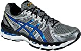 ASICS Mens GEL-Kayano 19 Running Shoe,Titanium/Royal/Black,13 M US