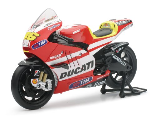 New Ray Toys Street Bike 1:12 Scale Motorcycle - Ducati MotoGP Valentino Rossi 57063 - 1