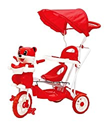 Sarthi Tricycles Bajaj Kitty Tricycle (Red)