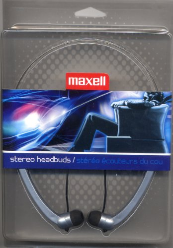 Maxell Hb-202 Stereo Line Head Buds - Silver (190317)
