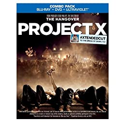 Project X (Blu-ray/DVD Combo + UltraViolet Digital Copy)