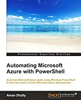 Automating Microsoft Azure with Powershell Front Cover