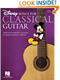 Disney Songs For Classical Guitar(Standard Notation & Tab)