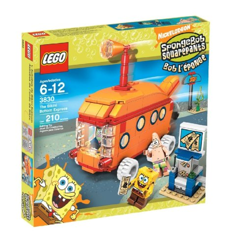 LEGO SpongeBob SquarePants Bikini Bottom Express Amazon.com