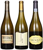 Crew Wine Co California Smooth Chardonnays Mixed Pack, 3 x 750 mL