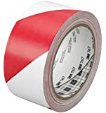3M tape 767dc 2 x 36yd; red/wht safety stripe [PRICE is per ROLL]