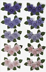 Martha Stewart Crafts Stickers, Dimensional Hydrangea