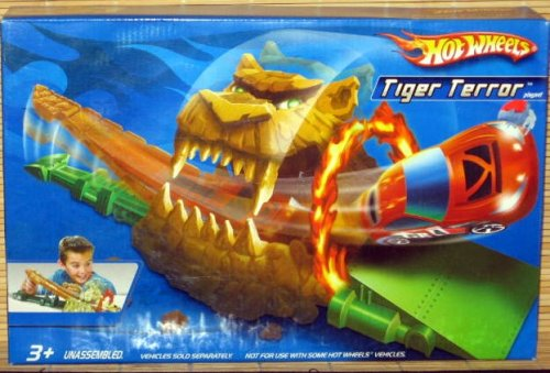 Hot Wheels Tiger Terror Race Playset - Buy Hot Wheels Tiger Terror Race Playset - Purchase Hot Wheels Tiger Terror Race Playset (Hot Wheels, Toys & Games,Categories,Play Vehicles,Vehicle Playsets)