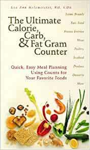 The ultimate calorie carb amp fat gram counter lea holzmeister