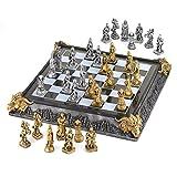 Koehler 35301 17 Inch Medieval Knights Chess Game Set