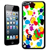 Fancy A Snuggle 'What A Mess Paint Splash Drop and Drips' Hard Case Back Cover for Apple iPod Touch 5th Generation
