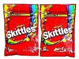 スキットルズ オリジナル フルーツキャンディー 大袋 204.1g×2袋