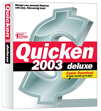 Quicken 2003 Deluxe [OLD VERSION]