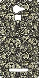 Go Hooked Designer Soft Back cover for Panasonic Eluga Mark + Free Mobile Stand (Assorted Design)