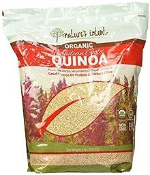 Nature\'s Intent Organic Andean Gold Quinoa, 4 Pound