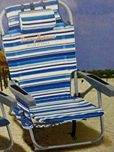 Buy 2014 Tommy Bahama Cooler Chairs (2) and Umbrella Blue by Tommy Bahama