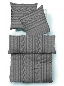 tom tailor bettwaesche biber flanell winter beach house 80x80 cm 155x220 cm k che. Black Bedroom Furniture Sets. Home Design Ideas