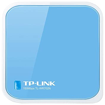 TP-Link TL-WR702N - Router inalámbrico N (150 Mbps, modos: punto de acceso, router, cliente, bridge y repetidor), Azul