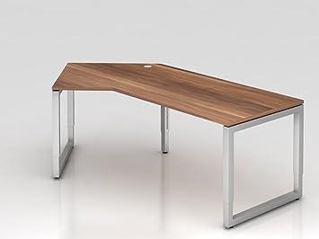 Angolo supporto tavolo o rettangolare, 210x 113cm, 135°, prugna