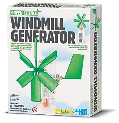 Green Science Windmill Generator by Toysmith