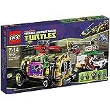 Lego Teenage Mutant Ninja Turtles - 79104 - Jeu de Construction - La Course Poursuite en Sheelraiser