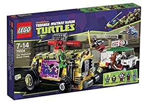 LEGO Teenage Mutant Ninja Turtles 79104: The Shellraiser Street Chase